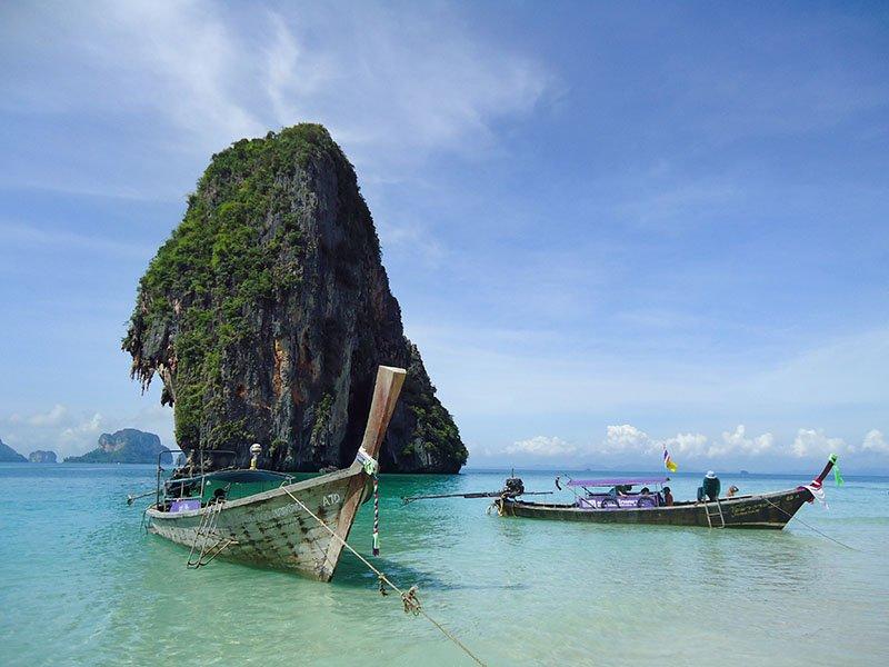 Tour 4 Islands em Krabi na Tailândia Ao Phra Nang 2