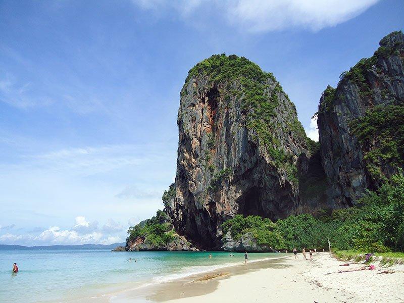 Tour 4 Islands em Krabi na Tailândia Ao Phra Nang