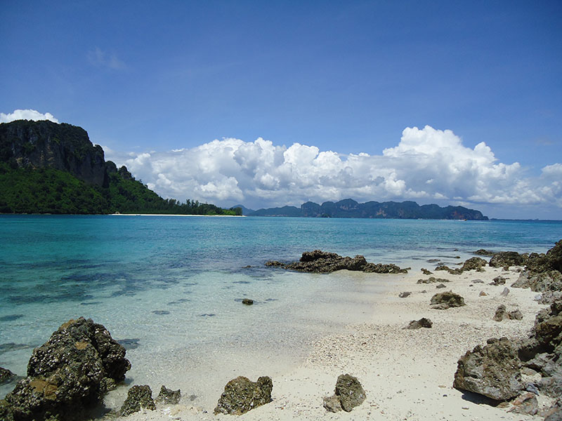 Tour 4 Islands em Krabi na Tailândia tup island 2