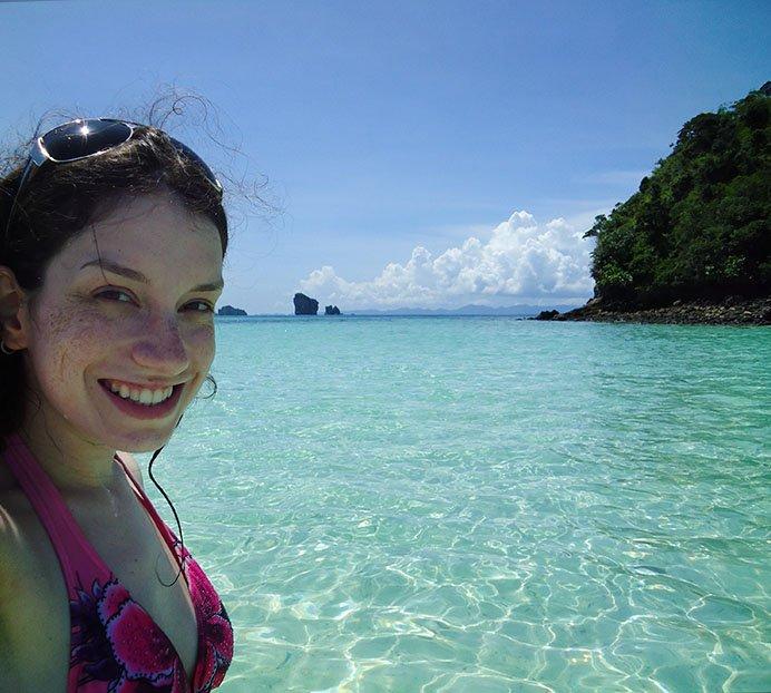 Tour 4 ilhas em Krabi na Tailândia tup island apure guria