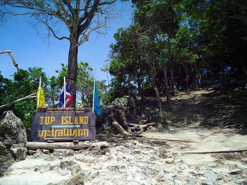 Tour 4 Islands em Krabi na Tailândia tup island