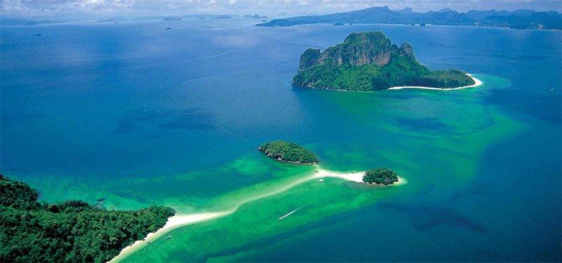 Tour 4 Islands em Krabi na Tailândia tup mor island 2