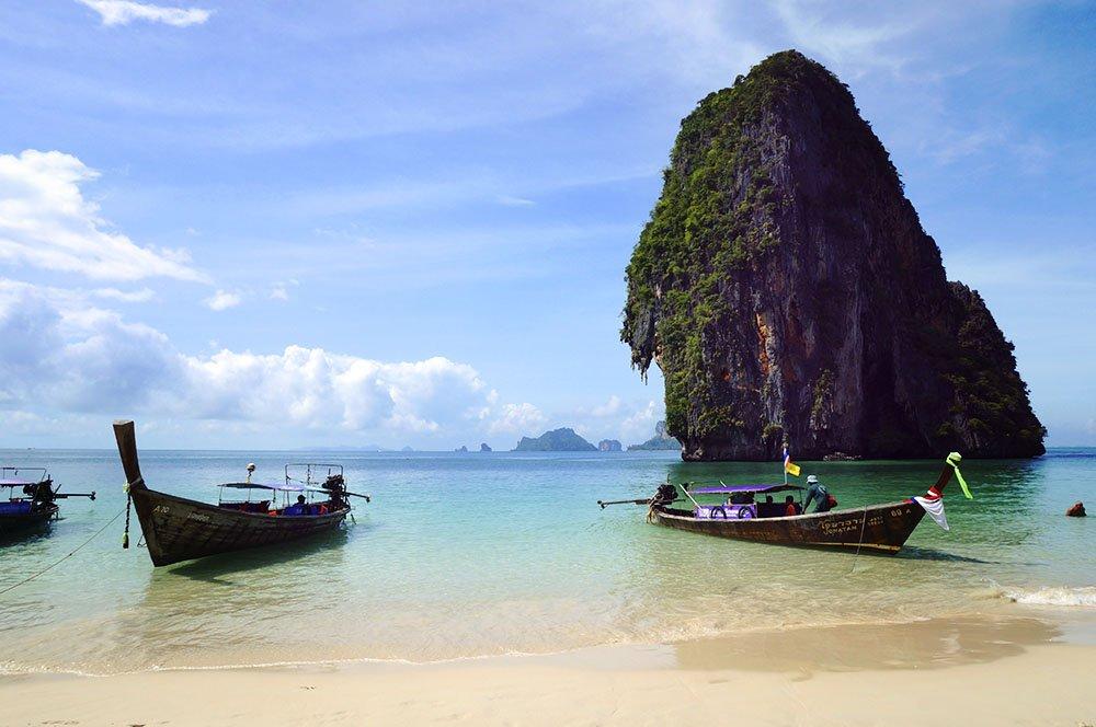 Tour 4 Islands em Krabi na Tailândia
