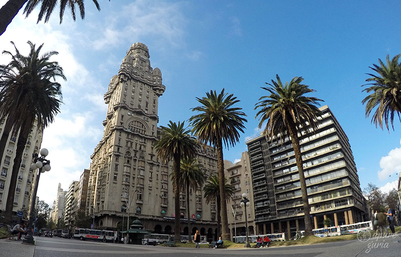 o que visitar no uruguai montevideu palacio salvo