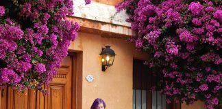 roteiro em colonia del sacramento uruguai flores