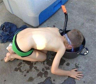 treino snorkel