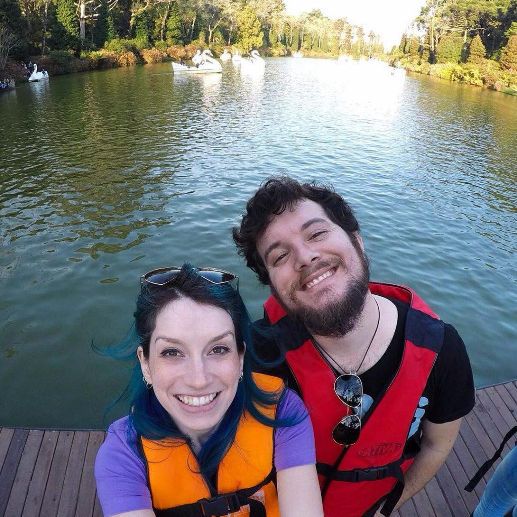 Pedalinho/barco pirata em #Gramado! #RioGrandedoSul #rs #viagem #viajar #trip #travel