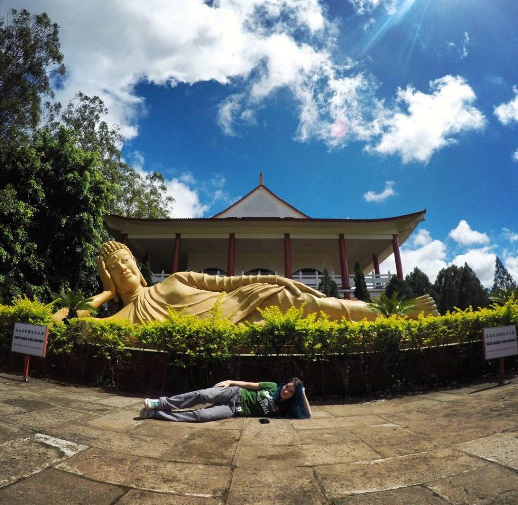 Relax no templo budista de #fozdoiguaçu! #temple #Foz #amofoz #curtafoz #Paraná #trip #travel #travelblog #travelawesome #fantrip #nosnomundo