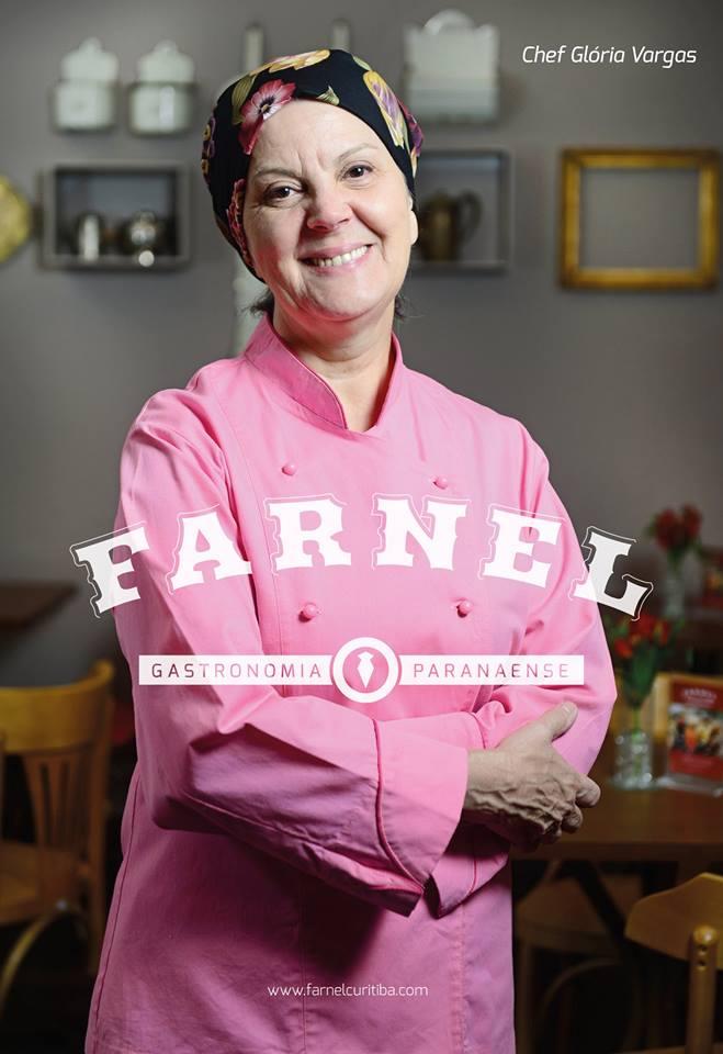 Farnel Gastronomia chef Glória Vargas