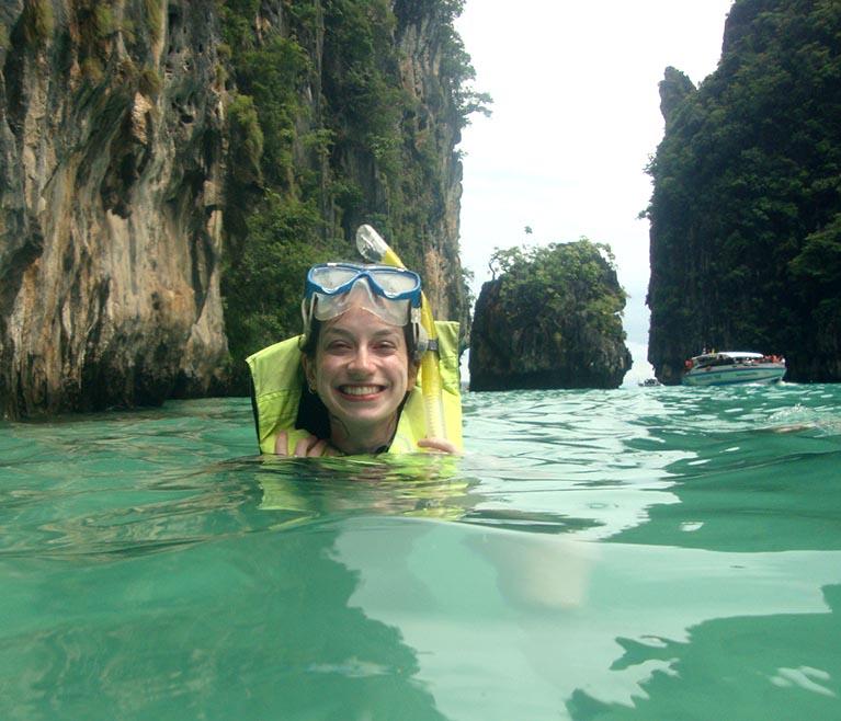 Maya Bay a beleza mais procurada de Koh Phi Phi (1)