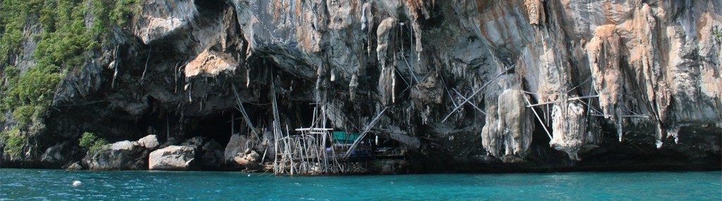 caverna viking cave koh phi phi