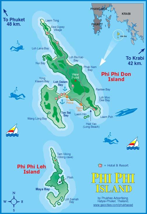 mapa-koh-phi-phi-ilha-tour-maya-bay