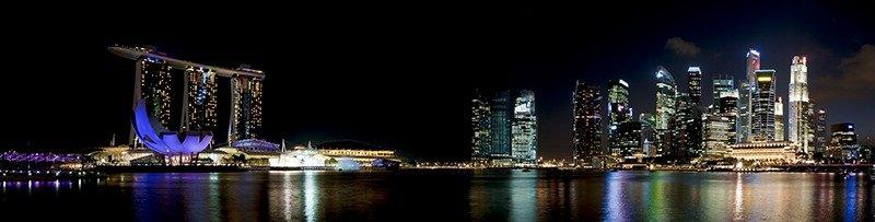 Guia cingapura marina bay região