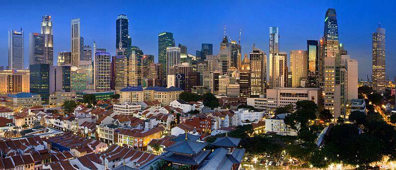 Guia de Cingapura cbd centro