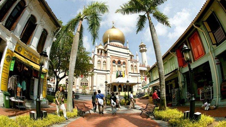 Guia de Cingapura masjid mosque