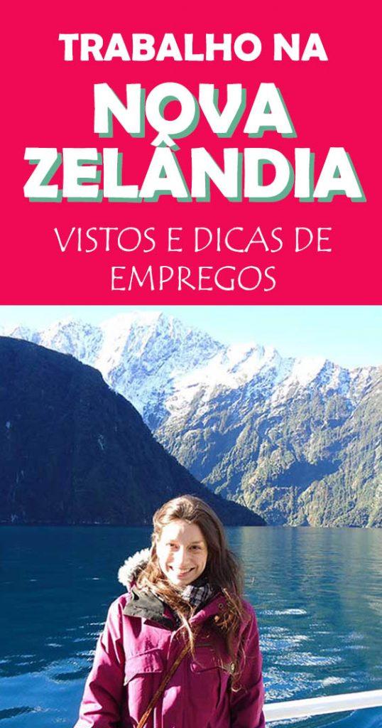Trabalho e dicas de emprego na Nova Zelândia, como funciona os vistos