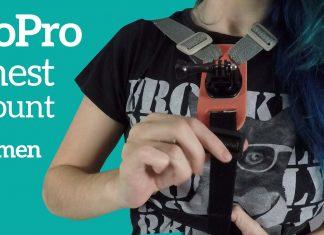gopro suporte peitoral gopro chest mount for women diy