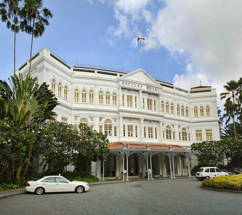 o que fazer em singapura raffles hotel