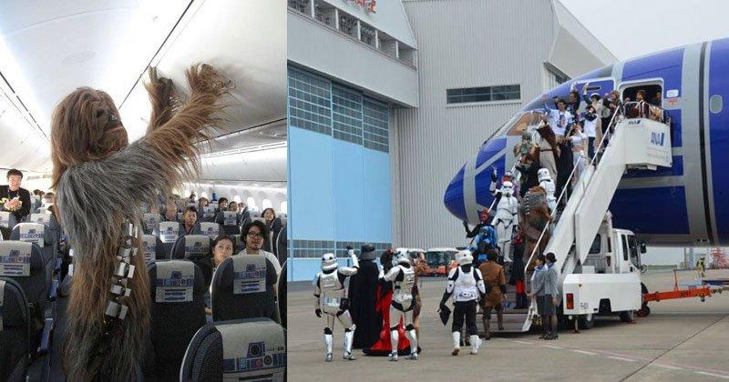 Por dentro do Avião Star Wars e aeroporto temático (13)