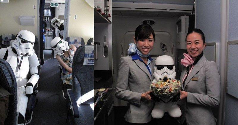 Por dentro do Avião Star Wars e aeroporto temático (3)