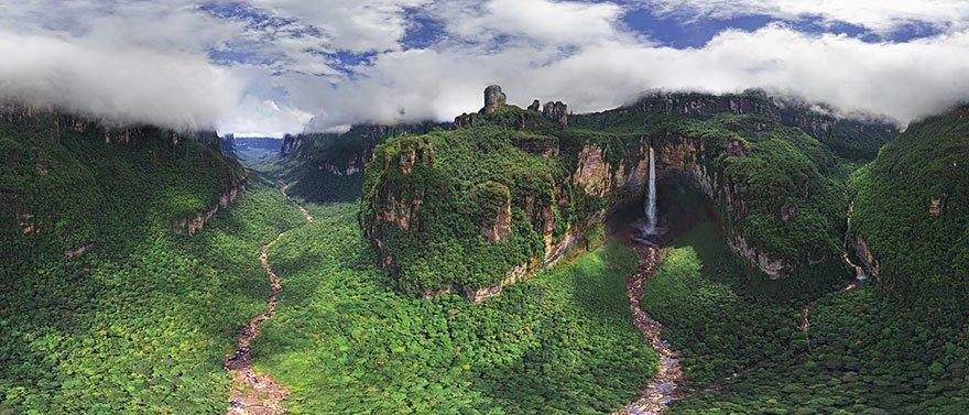 Salto Ángel-venezuela-30-lugares-incriveis-para-ver-do-ceu