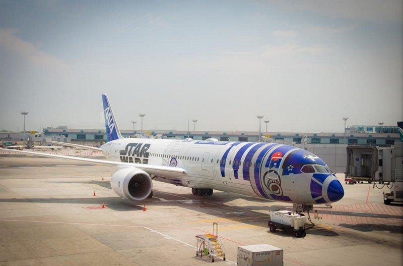 avião star wars r2d2