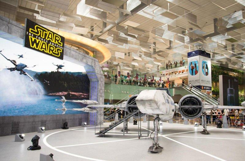 changi star wars aeroporto temático (2)