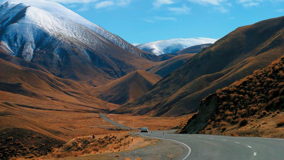 lindis-pass 8 estradas da Nova Zelândia que você deve conhecer
