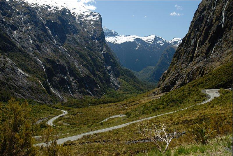 milford sound 8 estradas da Nova Zelândia que você deve conhecer