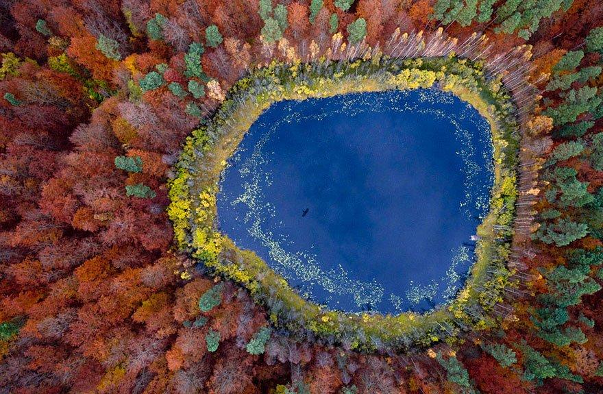 polonia-lake-pomerania-fotografia-aerea