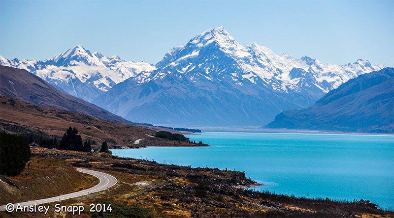 pukaki 8 estradas da Nova Zelândia que você deve conhecer