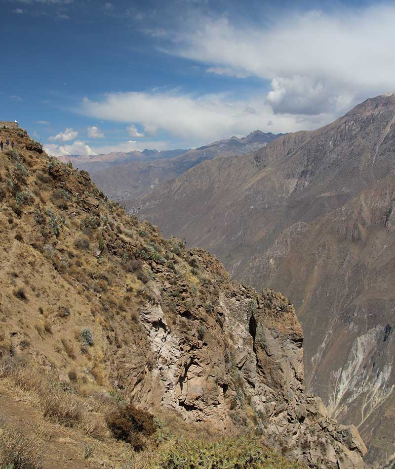 Canion del Colca imperdível trilha vista 2