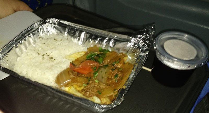 comida onibus peru