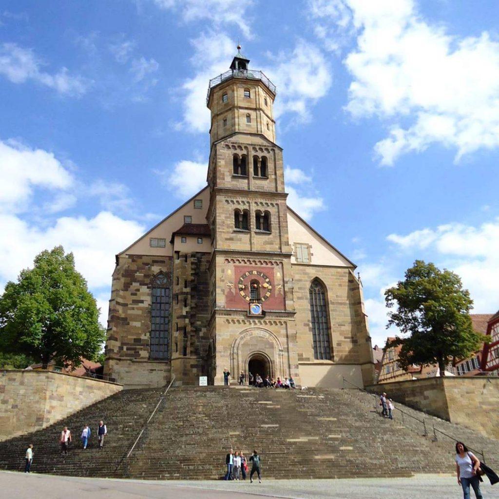 Igreja St. Michael em Schwäbisch Hall