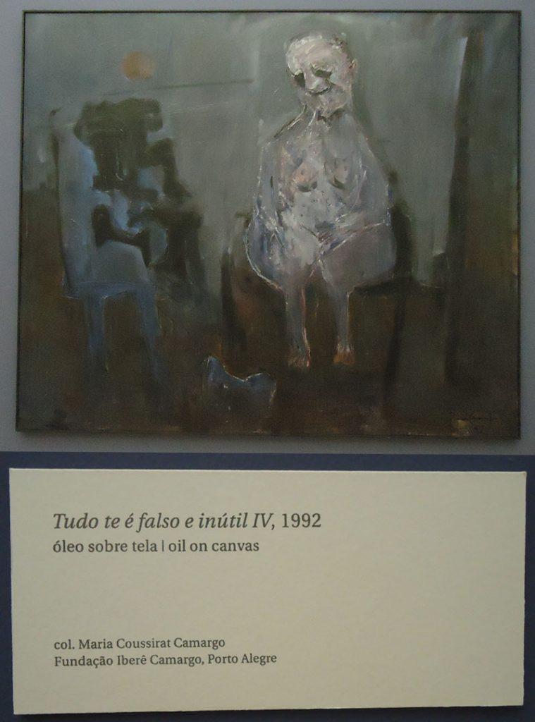Museu Iberê Camargo porto alegre tela