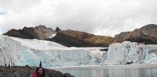 glaciar pastoruri lago