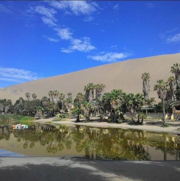 huacachina oasis no peru e sandboard