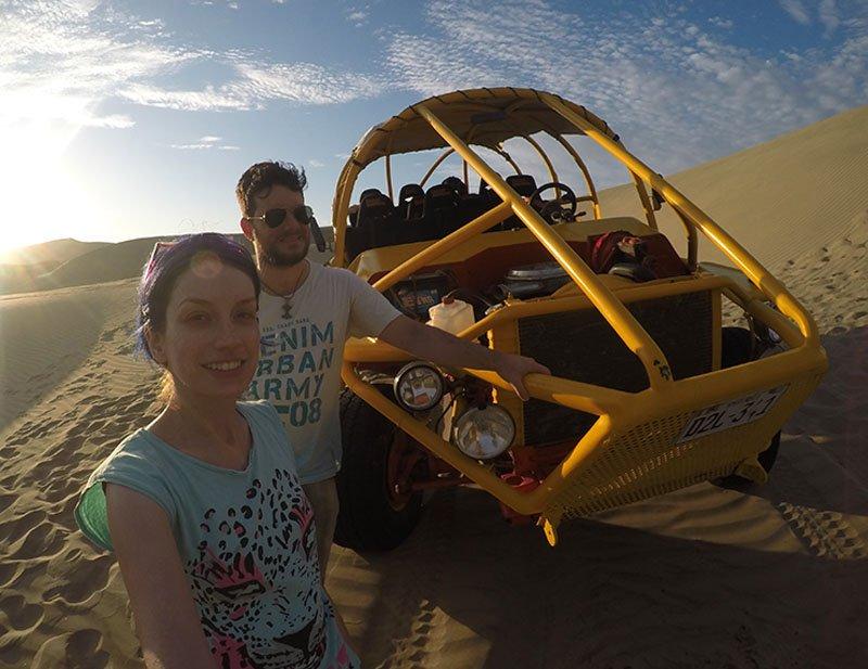 passeio de buggy em huacachina