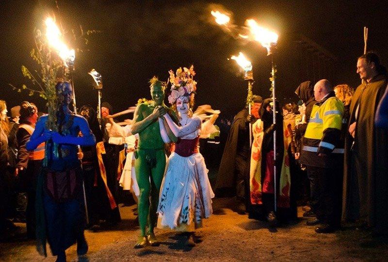 beltane fire escocia festivais alucinantes ao redor do mundo daniel rannoch