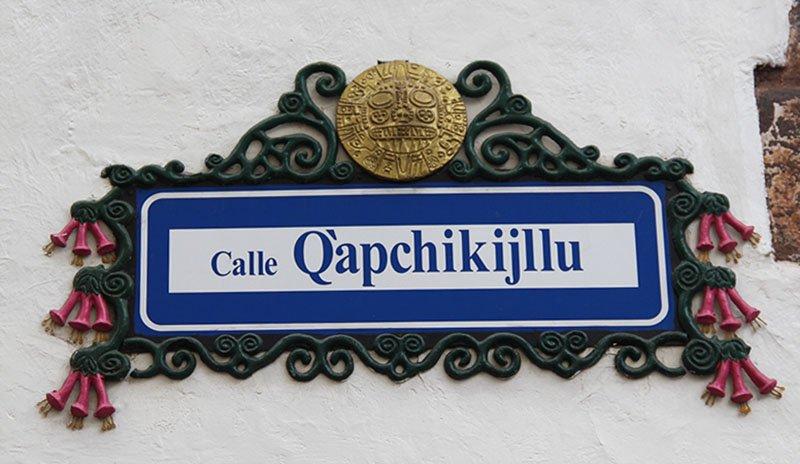 curiosidade nomes rua cusco