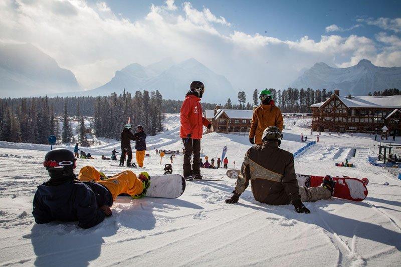 snowboard instructor curso nova zelandia