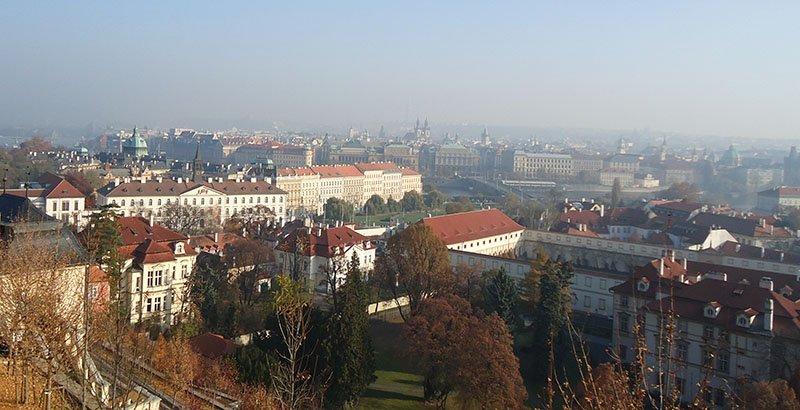 10 coisas para fazer em Praga vista da cidade