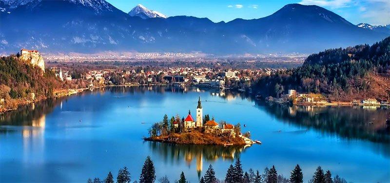 10 lindas cidades nas montanhas na Europa bled