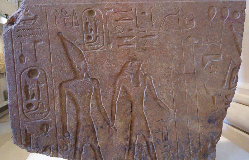 Hieróglifo museu do louvre