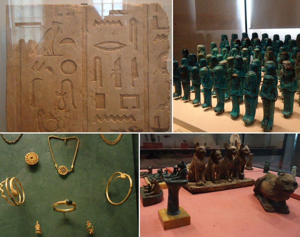 artefatos joias gatos antigo egito louvre