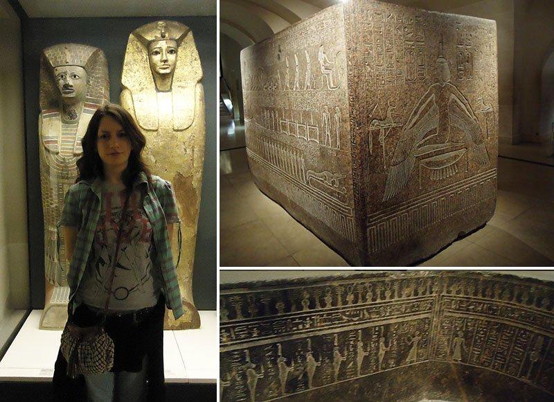 caixa do sarcófago de Ramesses III