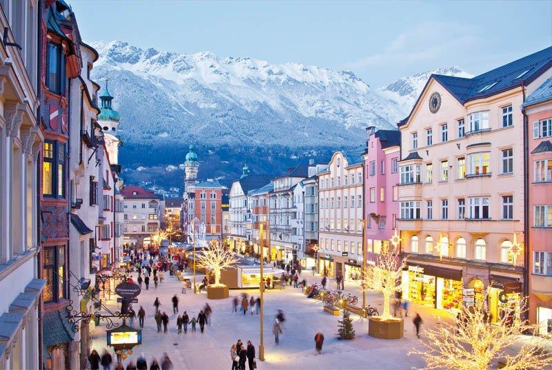 innsbruck cidades nas montanhas na europa