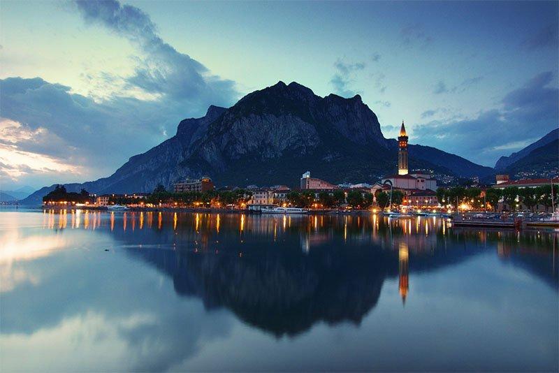 lecco 10 lindas cidades nas montanhas na Europa bled