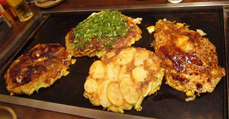 o que come rno japao okonomiyaki
