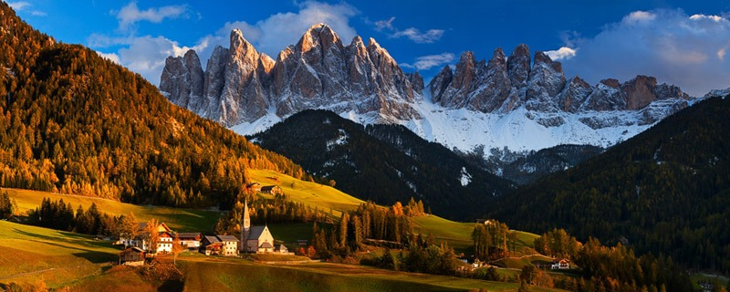 val di funes cidades nas montanhas na europa